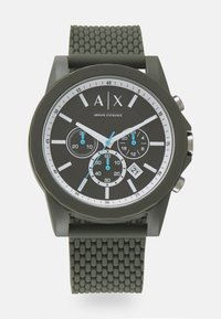 Armani Exchange - OUTERBANKS - Chronograph watch - green - 0