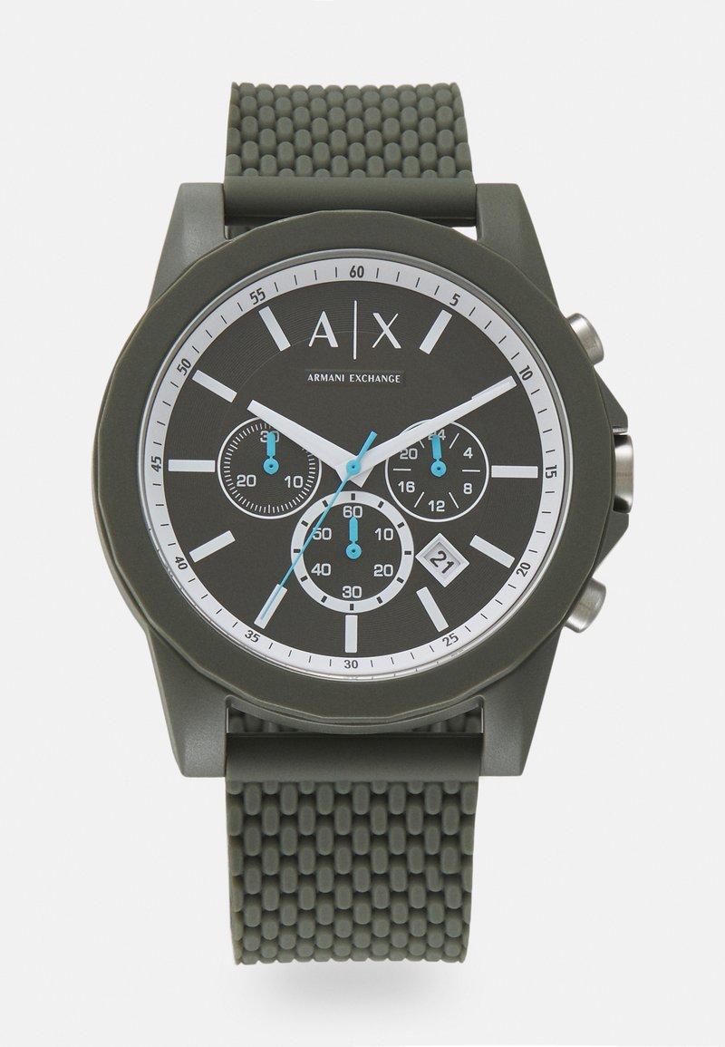 Armani Exchange - OUTERBANKS - Chronograph watch - green