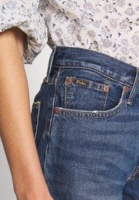 Polo Ralph Lauren - SPHIA CUTOFF - Denim shorts - medium indigo - 4