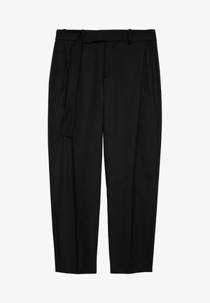 GENTLY - Trousers - black
