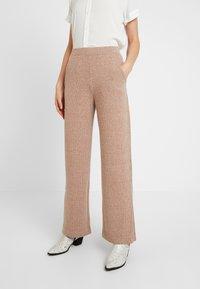 EDITED - HALI PANTS - Kalhoty - beige - 0