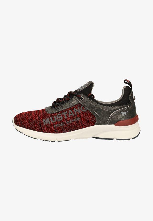 Sneakersy niskie - rot/schwarz 59