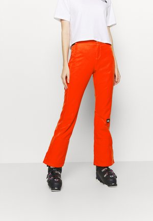 BLESSED PANTS - Talvihousut - fiery red