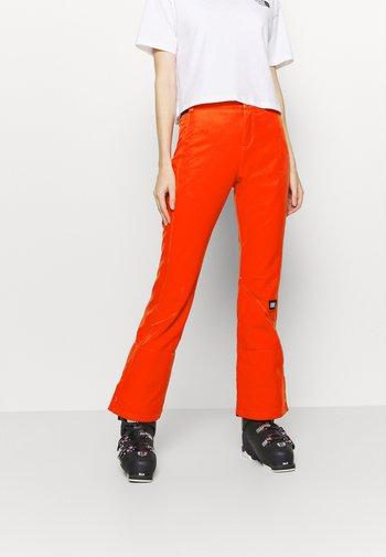 BLESSED PANTS - Ski- & snowboardbukser - fiery red