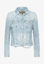 JACKET DESTROYED LIGHT BLUE - Jeansjakke - light blue denim