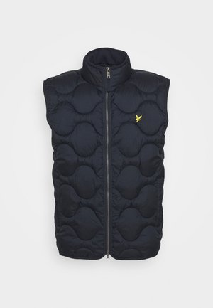 WADDED GILET - Väst - dark navy