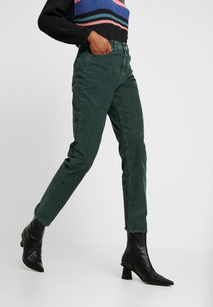 MOM JEAN - Trousers - willow green