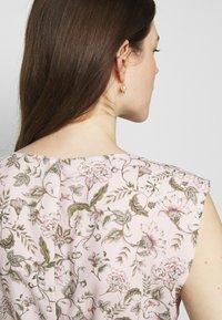 Lauren Ralph Lauren - VILODIE CAP SLEEVE CASUAL DRESS - Vestido informal - pink multi - 5