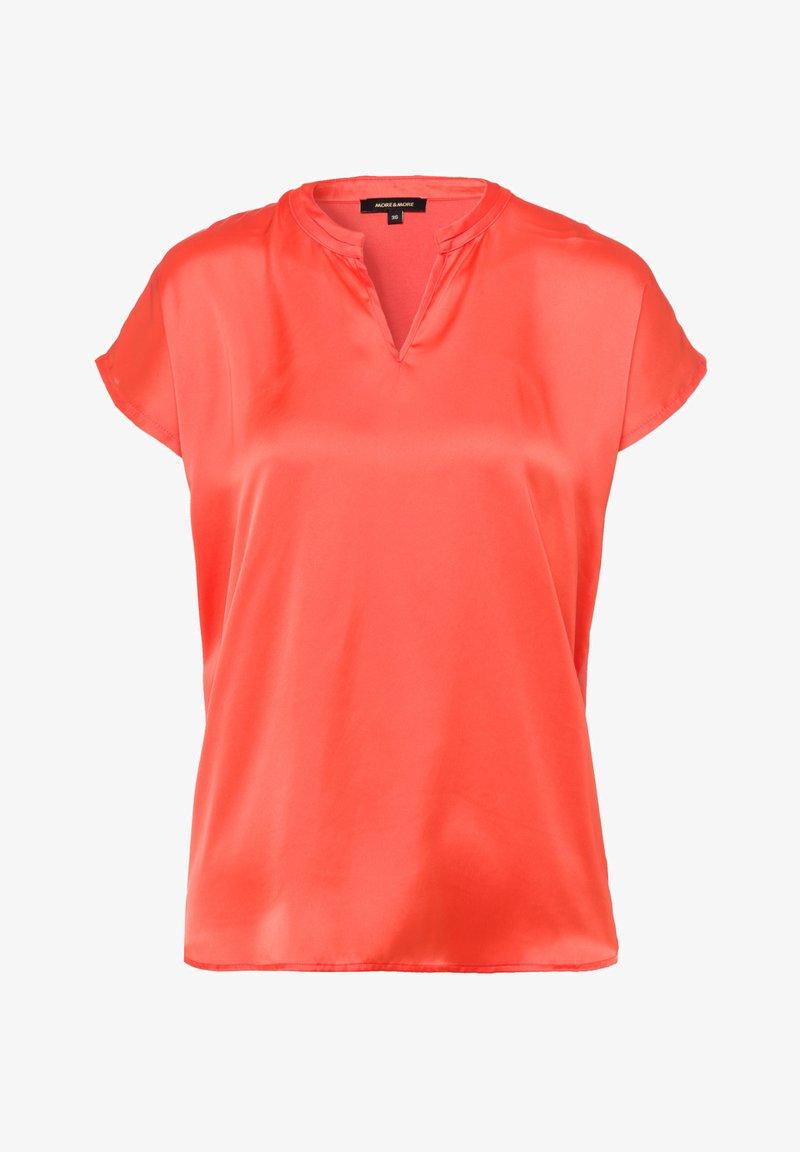 More & More - Basic T-shirt - orange
