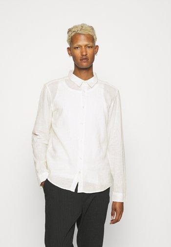 LEINEN MIX - Formální košile - off white