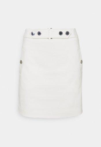 JOEL - Mini skirt - off white
