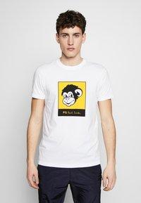 PS Paul Smith - Print T-shirt - white - 0