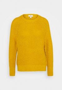 edc by Esprit - WAFFLE - Strikkegenser - brass yellow - 0