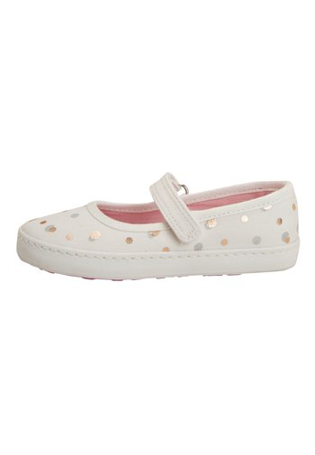 WHITE MARY JANE PUMPS (YOUNGER)