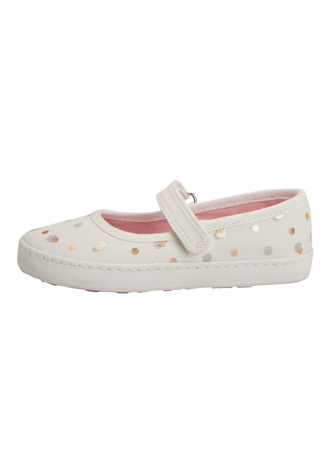 WHITE MARY JANE PUMPS (YOUNGER) - Ballerina's met enkelbandjes - white