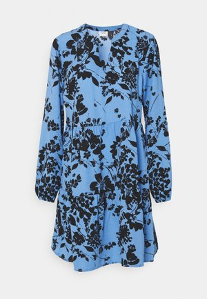 JDYLION LAYER DRESS - Day dress - silver lake blue