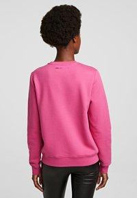 KARL LAGERFELD - Bluza - rose violet - 2