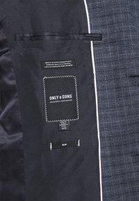 Only & Sons - ONSELIJAH CHECKCASUAL - Blazer jacket - dark navy - 6