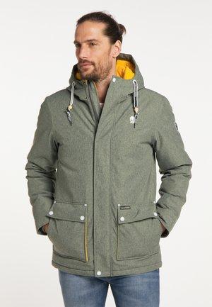 Winter jacket - oliv melange