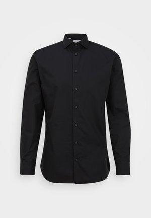 SLHSLIMETHAN CUT AWAY - Camicia elegante - black