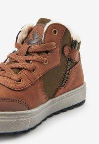 Next - Šněrovací kotníkové boty - brown - 2