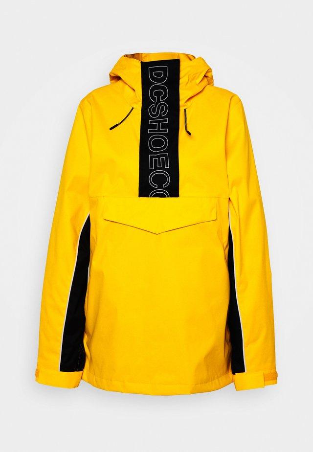 ENVY ANORAK - Snowboard jacket - lemon chrome