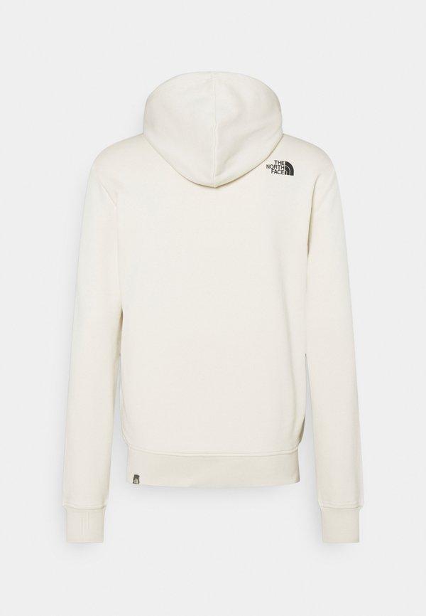 The North Face GRAPHIC HOOD - Bluza z kapturem - vintage white/mleczny Odzież Męska IVKS