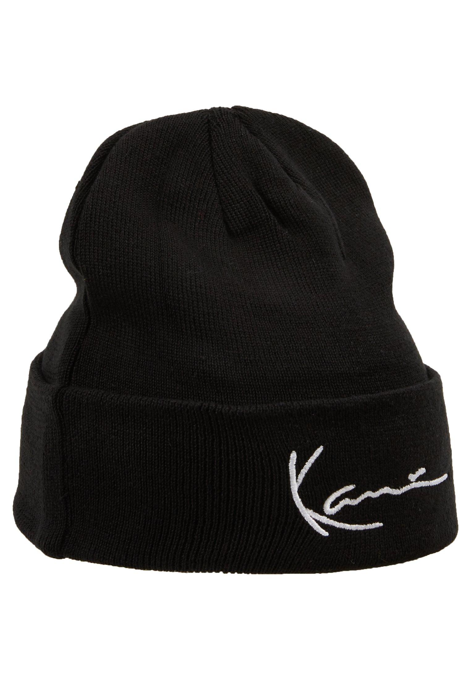 Karl Kani Signature Beanie - Mütze Black/schwarz