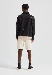 PULL&BEAR - Džínová bunda - dark grey - 2