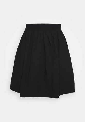 CAREDDOS KNEE SKIRT - A-line skirt - black