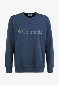 Columbia - Logo Crew - Bluza - collegiate navy puff logo - 5