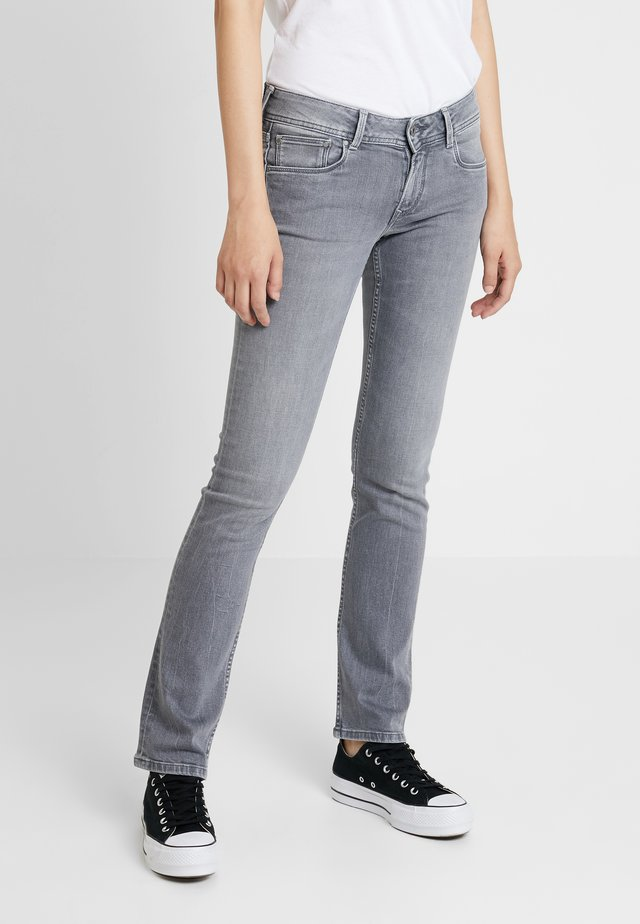 HOLLY - Jean droit - denim