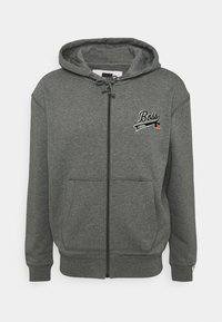 BOSS - BOSS X RUSSELL ATHLETIC SANYO - Sweatjacke - medium grey - 4