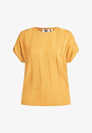 MET VLEERMUISMOUWEN - T-shirts print - ochre yellow