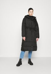 Weekday - ALLY LONG PUFFER - Winter coat - black - 0