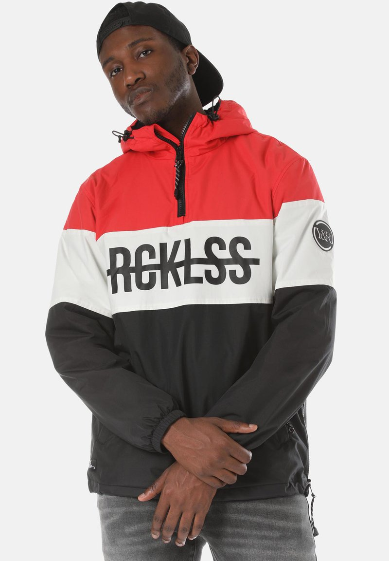 Young and Reckless - Windbreaker - red