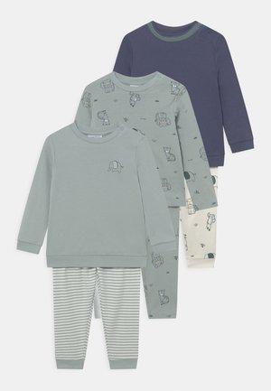 BOY 3 PACK - Pyjama - gray mist