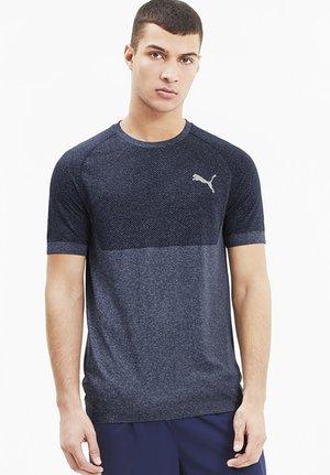 T-shirts print - peacoat
