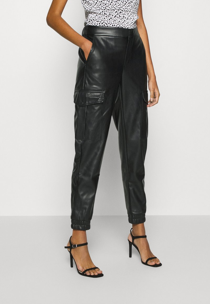 Noisy May - NMHILL PANT - Trousers - black