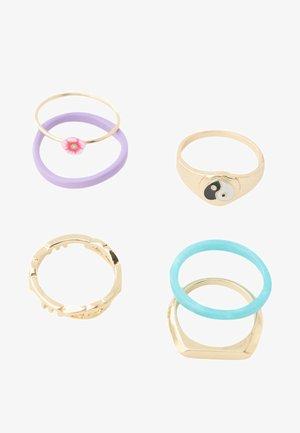 6ER PACK YIN YANG - Ring - multi-colored