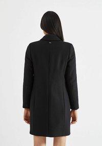 IKKS - CHEVRON WOOL RICH CITY - Short coat - noir - 1