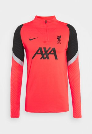 LIVERPOOL FC DRY DRIL - Club wear - laser crimson/wolf grey/black