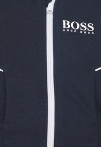 BOSS Kidswear - CARDIGAN UNISEX - Zip-up hoodie - navy - 2