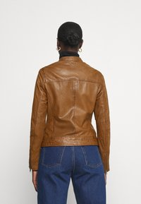 Oakwood - LINA - Leather jacket - cognac - 2