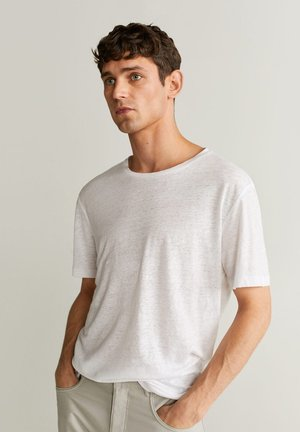 LIMAN - Basic T-shirt - blanc
