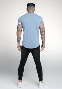 SIKSILK - HERITAGE GYM TEE - Basic T-shirt - faded denim - 2
