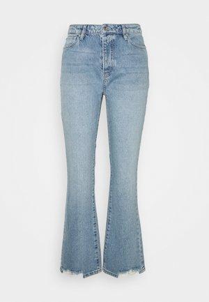 FRIDA JEANS WASH VARADERO DISTRESSED - Flared Jeans - denim blue