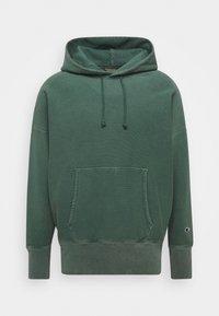 Champion Reverse Weave - HOODED - Hættetrøjer - dark green - 0