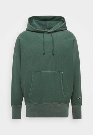 HOODED - Jersey con capucha - dark green