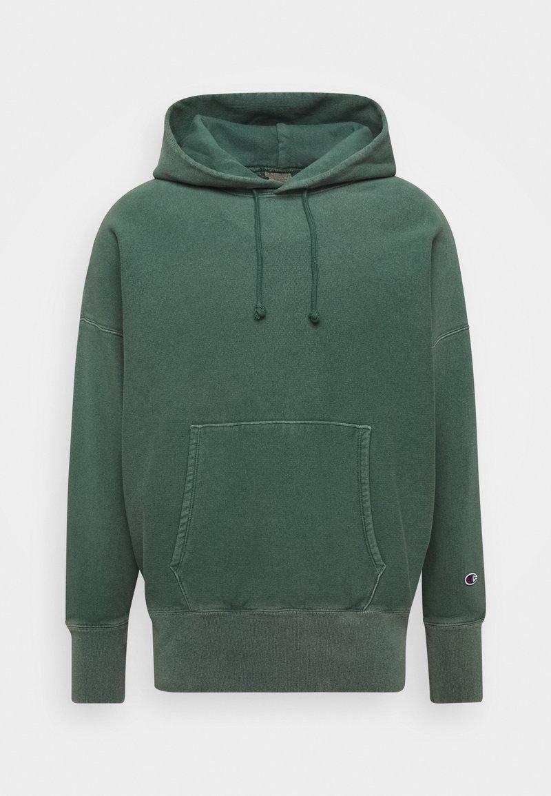 Champion Reverse Weave - HOODED - Hættetrøjer - dark green